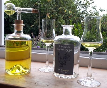 Deutschland Baiersbronn Abrahamshof Gin