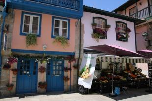 Portugal Chaves Altstadt Häuser