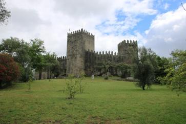 Portugal Guimaraes Castelo