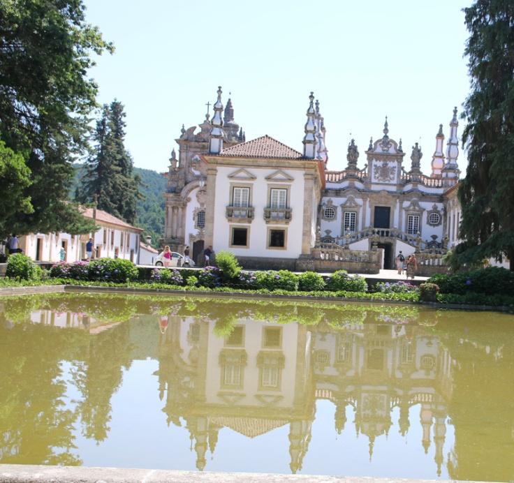 Portugal Mateus Villa Eingang