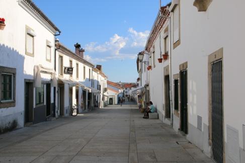 Portugal Miranda do Douro Fußgängerzone Altstadt