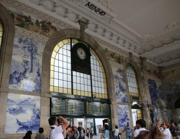 Portugal Porto Bahnhof San Bento