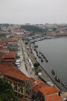 Portugal Porto Blick Vila Nova de Gaia von Ponte Luis