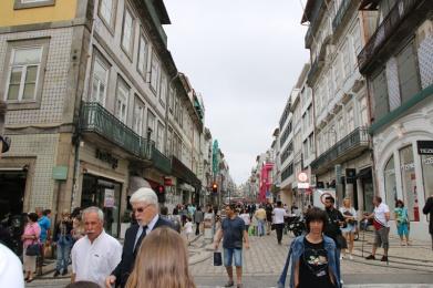 Portugal Porto Einkaufsstraße Santa Catarina