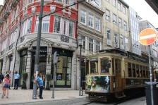 Portugal Porto historische Bahn