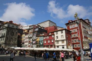 Portugal Porto Ribeira Häuser