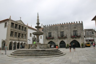 Portugal Viana do Castelo altes Rathaus