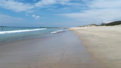 Portugal Vila do Conde Strand von Mindelo