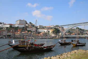 Portugal Vila Nova de Gaia Portweinschiffe