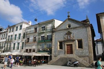 Portugal Vila Nova de Gaia Uferfront mit Seilbahn