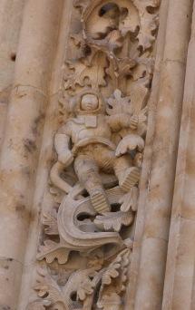 Salamanca Kathedrale Astronaut
