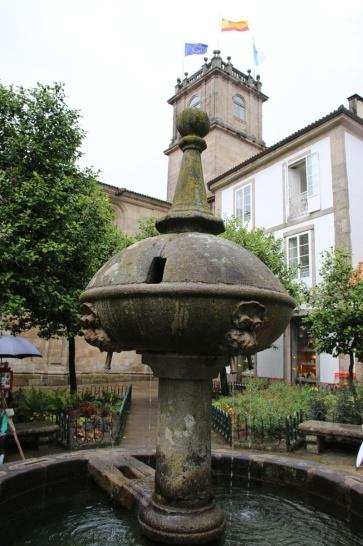 Santiago de Compostela Brunnen