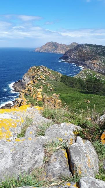 Spanien Galizien Islas Cies Pedra da Campá