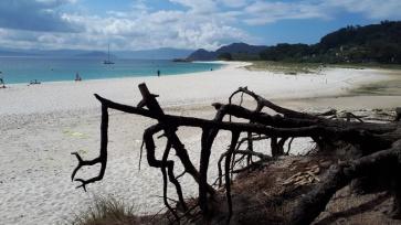 Spanien Galizien Islas Cies Praia das Rodas