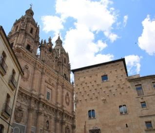 Spanien Salamanca Casa de las Conchas