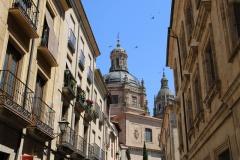 Spanien Salamanca Fassaden