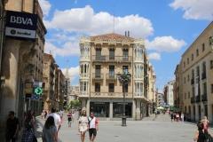 Spanien Salamanca Fußgängerzone