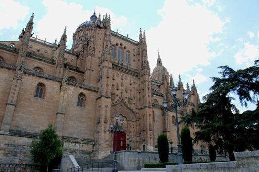 Spanien Salamanca Kathedrale