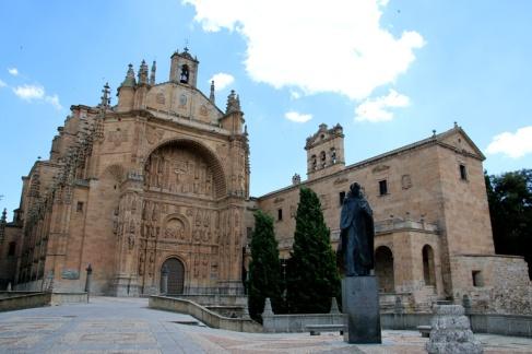 Spanien Salamanca Nonnenkloster de San Esteban