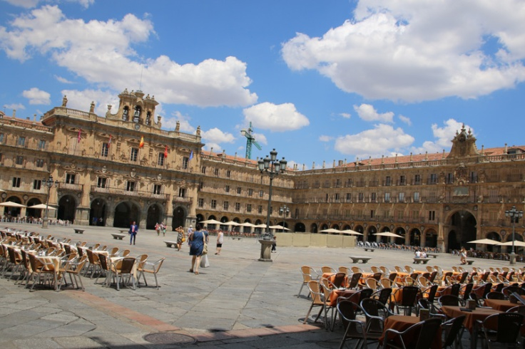 Spanien Salamanca Plaza Mayor