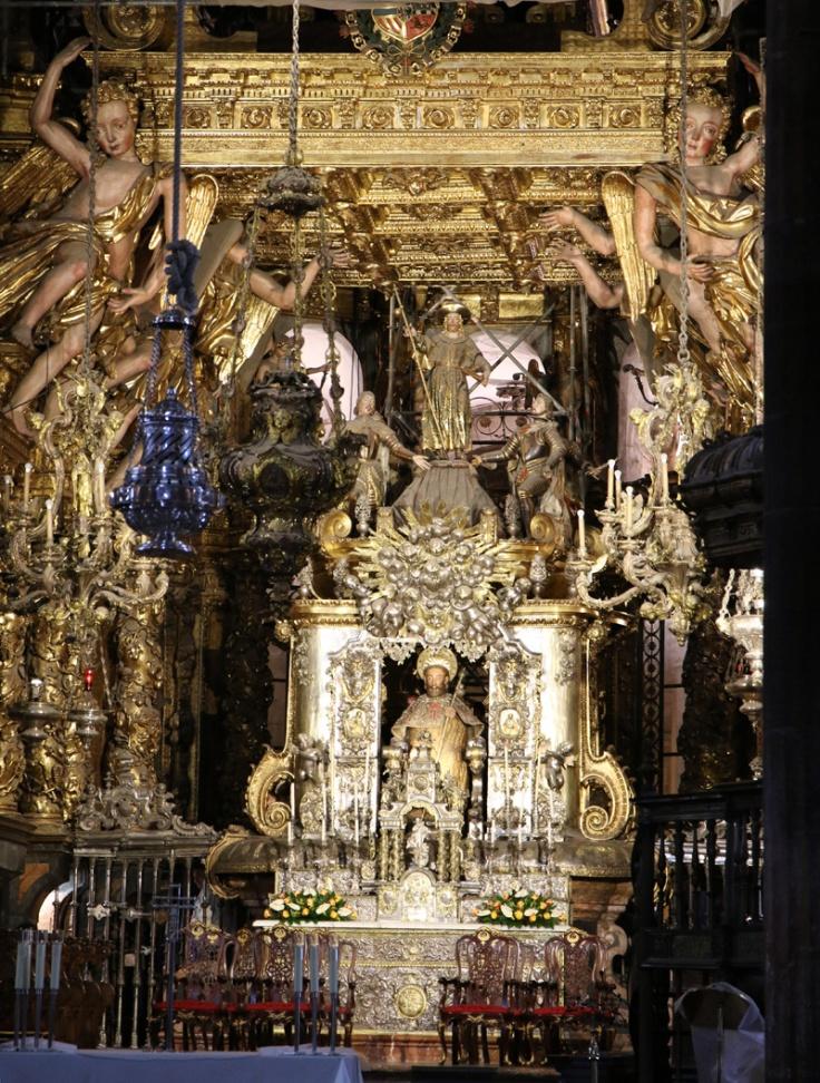 Spanien Santiago de Compostela in der Kathedrale