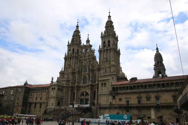 Spanien Santiago de Compostela Kathedrale
