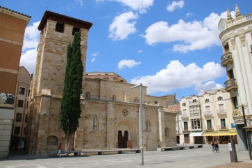 Spanien Zamora Iglesia de Santiago del Burgo