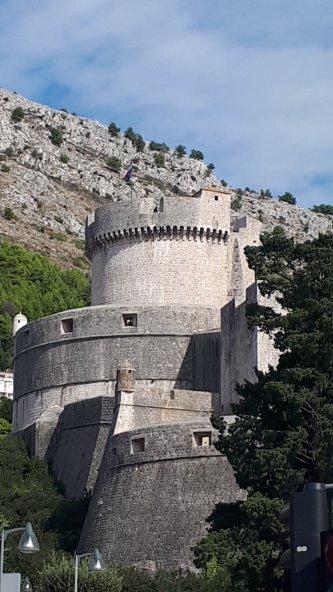 Kroatien Dubrovnik Altstadt Turm Qarth