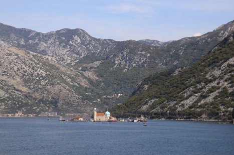 Montenegro Bay of Kotor Lady of the Rock Maria vom Felsen