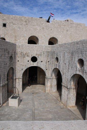 Kroatien Dubrovnik Lovrijenac