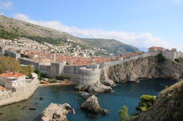 Kroatien Dubrovnik Altstadt Bokar King's Landing