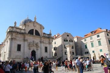Kroatien Dubrovnik Altstadt Luza Roland