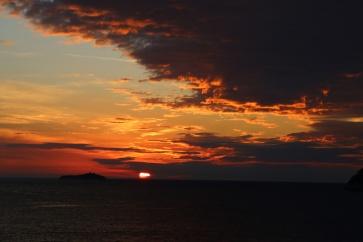 Kroatien Dubrovnik Sonnenuntergang Tag 5b