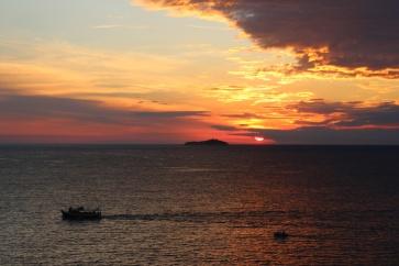 Kroatien Dubrovnik Sonnenuntergang Tag 5c