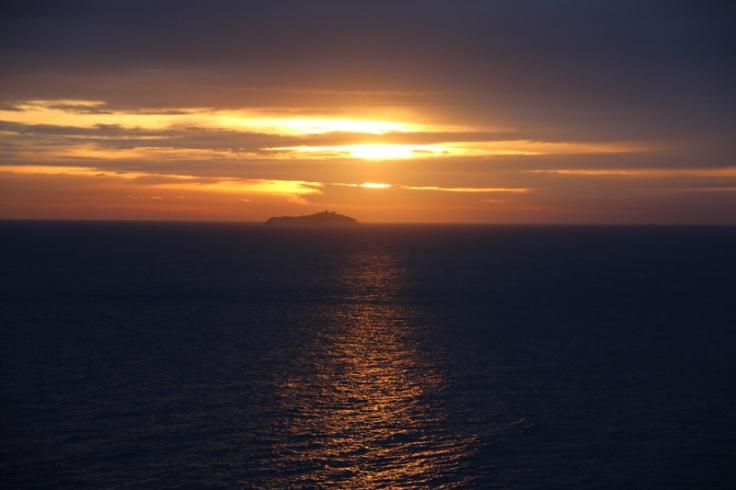 Kroatien Dubrovnik Sonnenuntergang Tag 6