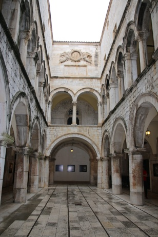 Kroatien Dubrovnik Sponzapalast
