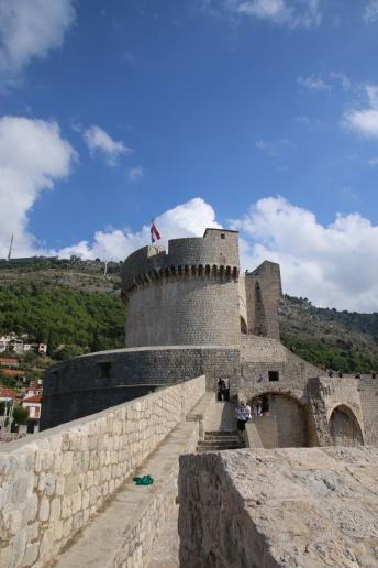 Kroatien Dubrovnik Stadtmauerrundgang