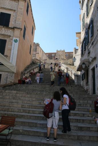 Kroatien Dubrovnik Uz Jesuite GoT Treppe der Schande