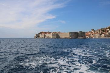 Kroatien Fahrt von Dubrovnik nach Lokrum