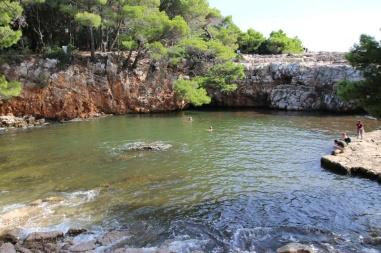 Kroatien Lokrum Totes Meer
