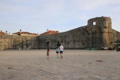 Montenegro Budva Altstadtmauer