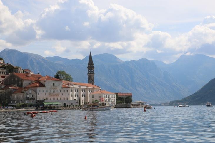 Montenegro Perast mit Campanile