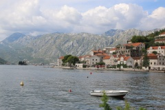 Montenegro Perast Stadtbild
