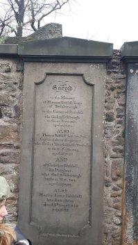 Grab von Thomas Riddell - Vorlage für Tom Riddle alias Voldemort