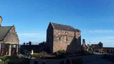 St. Margaret's Chapel im Edinburgh Castle