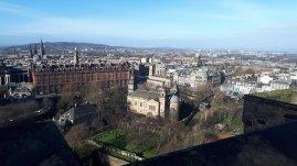 Blick vom Edinburgh Castle