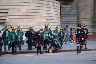 Fasching in Edinburgh?