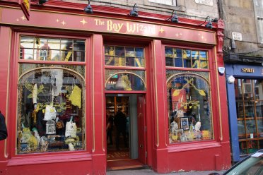 Harry Potter Shop in der Victoria Street