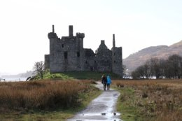 Highlands Lochawe Kilchurn Castle