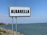 Albarella Ortsschild